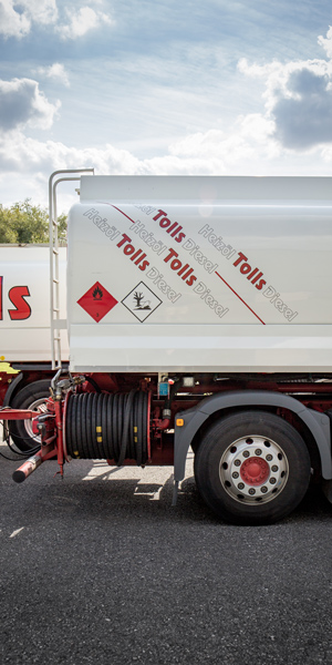 Tolls Heizoel Tankwagen